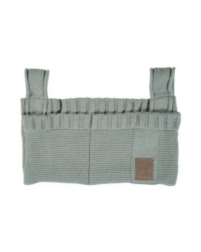 Knitted Stone Green - Storage bag