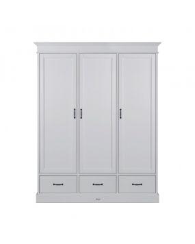 La Première Wit / Wit - Linnenkast (3 deurs)